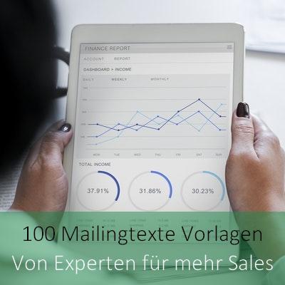 100 Mailingtexte Vorlagen